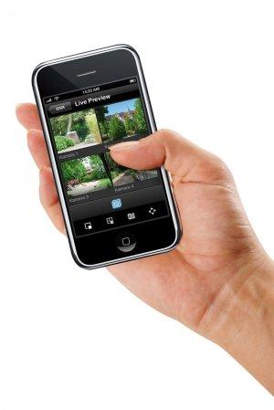 profi berwachungssystem sofortaufnahmen auf ihr smartphone. Black Bedroom Furniture Sets. Home Design Ideas